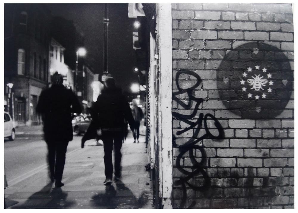 Une rue de Manchester